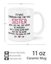 LOVELY MUG: FOR SISTER Mug ceramic-mug-lifestyle-62
