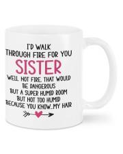 LOVELY MUG: FOR SISTER Mug front