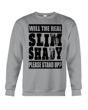 WILL THE REAL SLIM SHADY PLEASE STAND UP Crewneck Sweatshirt thumbnail