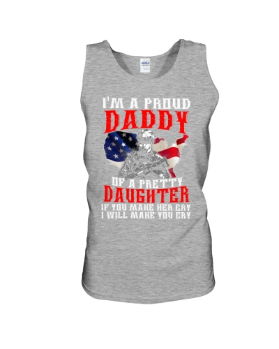 Veteran Proud Daddy Of A Pretty Daughter Shirt