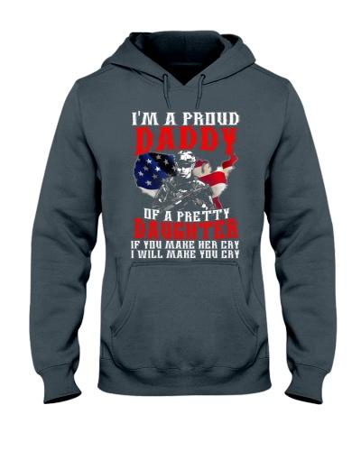 Veteran Proud Daddy Of A Pretty Daughter Shirt