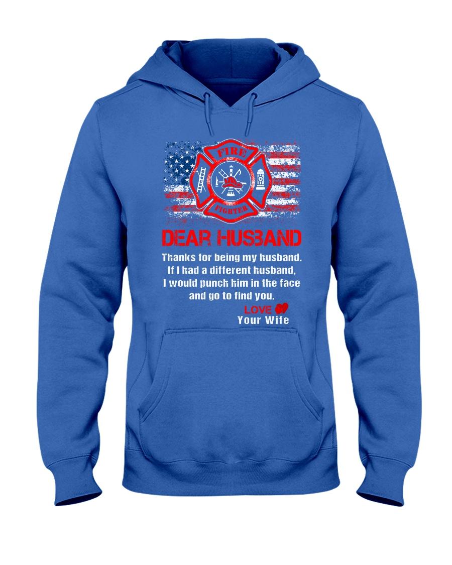 Firefighter Dear Husband Mug Hooded Sweatshirt