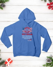 Firefighter Dear Husband Mug Hooded Sweatshirt lifestyle-holiday-hoodie-front-3