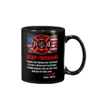 Firefighter Dear Husband Mug Mug thumbnail