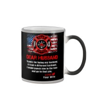 Firefighter Dear Husband Mug Color Changing Mug thumbnail