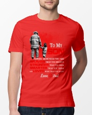 Firefighter To my Son Classic T-Shirt lifestyle-mens-crewneck-front-13