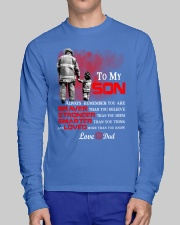 Firefighter To my Son Long Sleeve Tee lifestyle-unisex-longsleeve-front-1