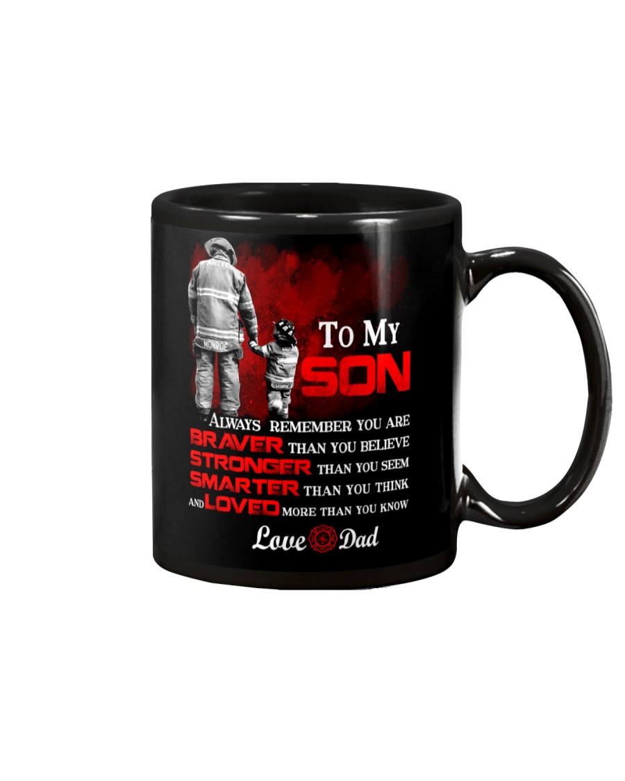 Firefighter To my Son Mug