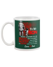 Firefighter To my Son Mug back