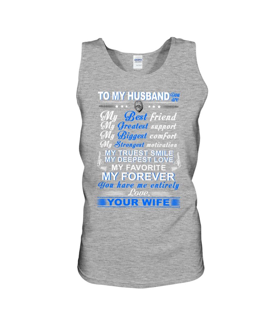 Police My Husband Have Me Entirely Mug Unisex Tank