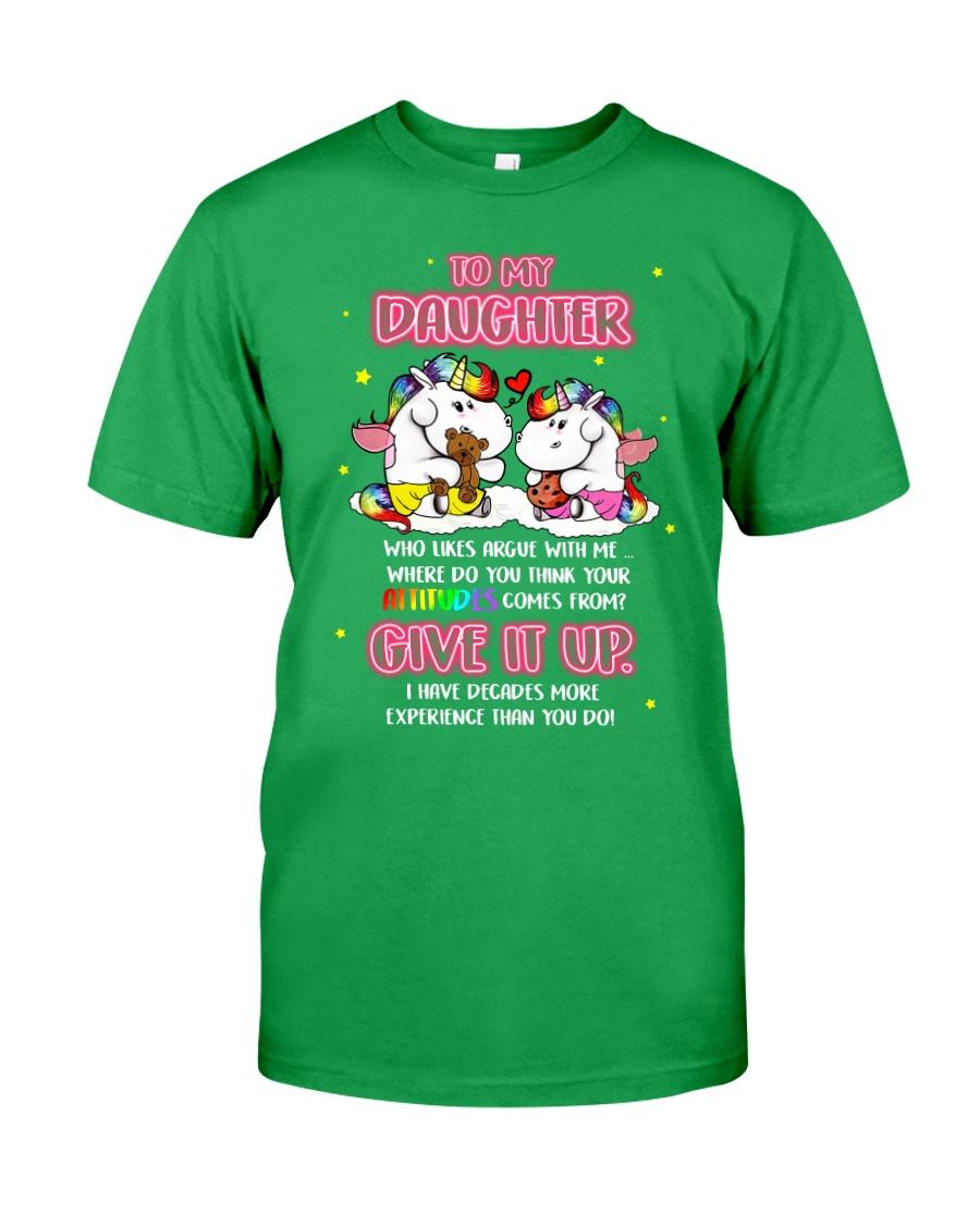 Unicorn Give It Up Mug Classic T-Shirt showcase