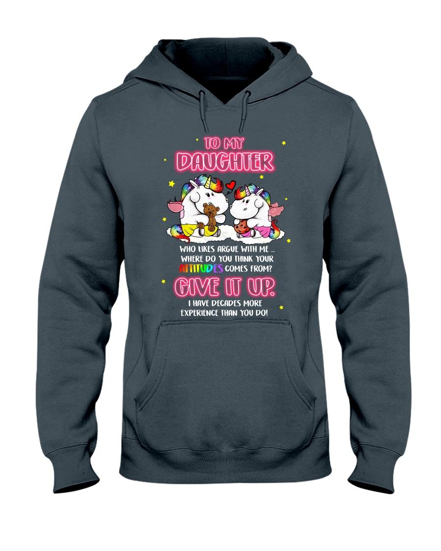 Unicorn Give It Up Mug Hooded Sweatshirt