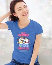 Unicorn Give It Up Mug Ladies T-Shirt lifestyle-holiday-womenscrewneck-front-1