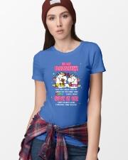 Unicorn Give It Up Mug Ladies T-Shirt lifestyle-women-crewneck-front-9