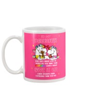 Unicorn Give It Up Mug Mug back