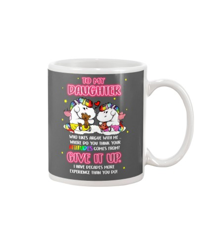 Unicorn Give It Up Mug