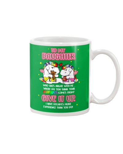 Unicorn Give It Up Mug