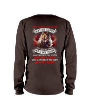 You know my name not my story  Long Sleeve Tee back