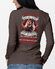 You know my name not my story  Long Sleeve Tee lifestyle-unisex-longsleeve-back-3