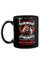 You know my name not my story  Mug back