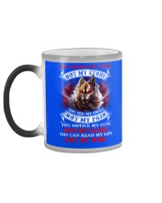 You know my name not my story  Color Changing Mug color-changing-left