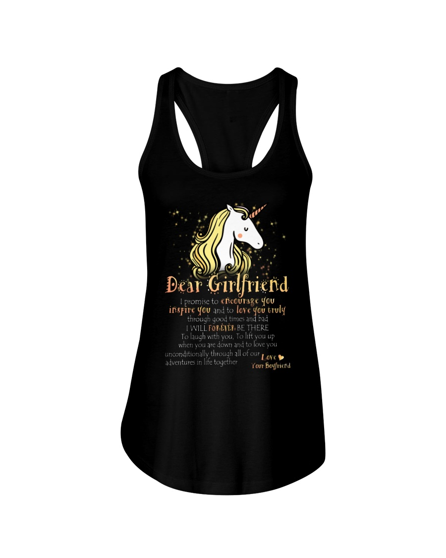 Unicorn Encourage Inspire Mug Ladies Flowy Tank