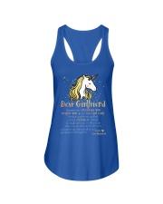 Unicorn Encourage Inspire Mug Ladies Flowy Tank front