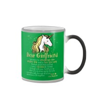 Unicorn Encourage Inspire Mug Color Changing Mug color-changing-right