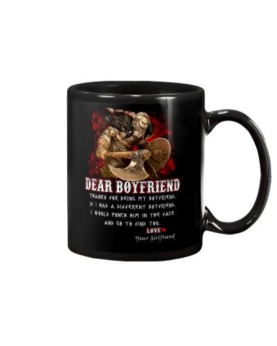 Viking Dear Boyfriend Mug