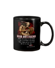 Viking Dear Boyfriend Mug Mug tile