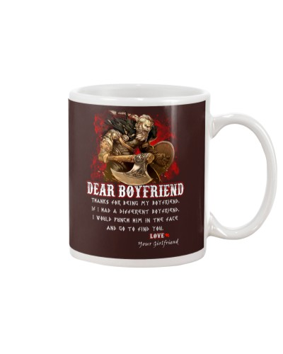 Viking Dear Boyfriend Mug