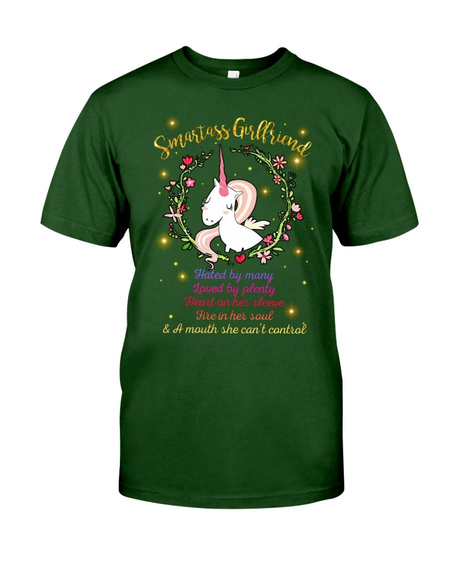 Unicorn Smartass Girlfriend Mug Classic T-Shirt showcase