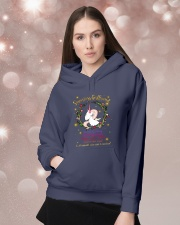 Unicorn Smartass Girlfriend Mug Hooded Sweatshirt lifestyle-holiday-hoodie-front-1
