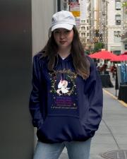 Unicorn Smartass Girlfriend Mug Hooded Sweatshirt lifestyle-unisex-hoodie-front-5