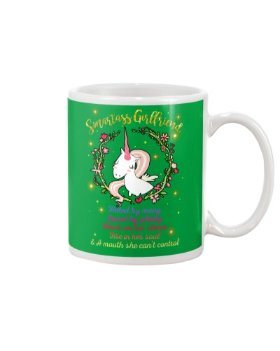 Unicorn Smartass Girlfriend Mug