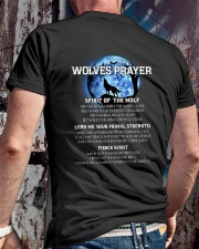 Vikings Wolves Prayer With Blue Moon Shirt Classic T-Shirt lifestyle-mens-crewneck-back-2