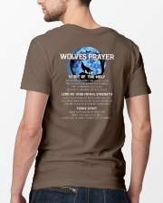 Vikings Wolves Prayer With Blue Moon Shirt Classic T-Shirt lifestyle-mens-crewneck-back-5