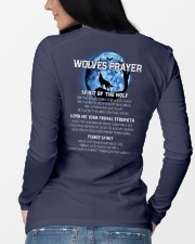 Vikings Wolves Prayer With Blue Moon Shirt Long Sleeve Tee lifestyle-unisex-longsleeve-back-3
