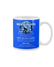 Vikings Wolves Prayer With Blue Moon Shirt Mug front
