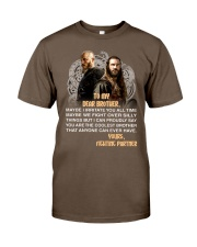 Viking Dear Brother Mug Classic T-Shirt front