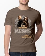 Viking Dear Brother Mug Classic T-Shirt lifestyle-mens-crewneck-front-13