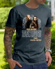 Viking Dear Brother Mug Classic T-Shirt lifestyle-mens-crewneck-front-7