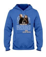 Viking Dear Brother Mug Hooded Sweatshirt front