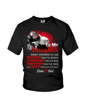 Firefighter To my Daughter Youth T-Shirt thumbnail