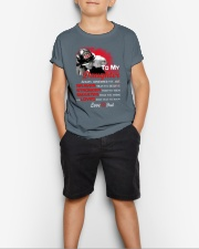 Firefighter To my Daughter Youth T-Shirt lifestyle-youth-tshirt-front-1