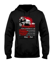 Firefighter To my Daughter Hooded Sweatshirt thumbnail