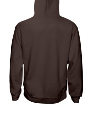 Firefighter To my Daughter Hooded Sweatshirt back
