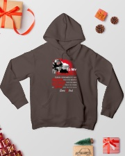 Firefighter To my Daughter Hooded Sweatshirt lifestyle-holiday-hoodie-front-2