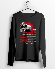 Firefighter To my Daughter Long Sleeve Tee lifestyle-unisex-longsleeve-front-3