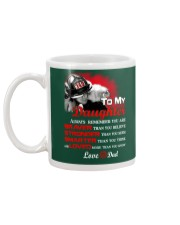 Firefighter To my Daughter Mug back